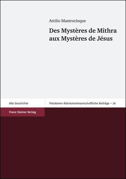 Des Mystères de Mithra aux Mystères de Jésus - Coverbild
