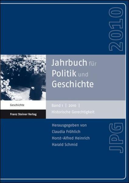 Jahrbuch für Politik und Geschichte 1 (2010) - Coverbild