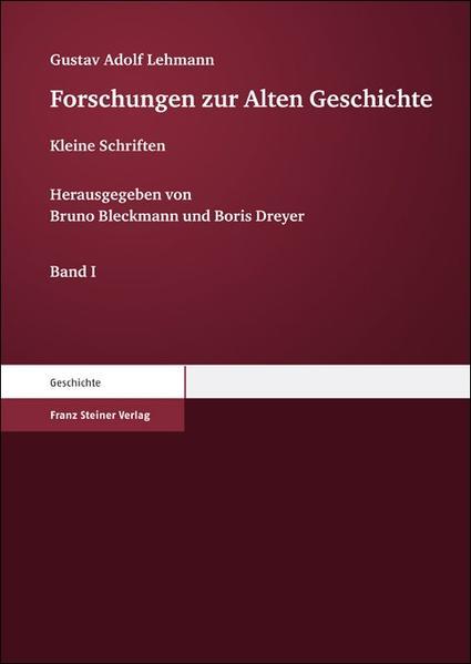Forschungen zur Alten Geschichte - Coverbild