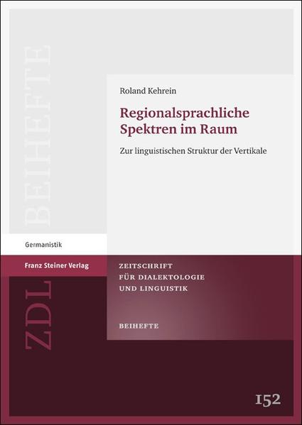 Regionalsprachliche Spektren im Raum - Coverbild