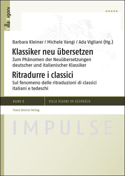 Klassiker neu übersetzen / Ritradurre i classici - Coverbild