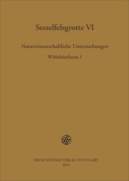Sesselfelsgrotte VI - Coverbild