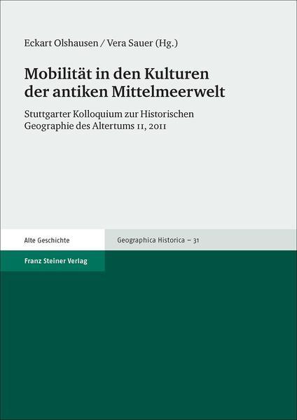 Mobilität in den Kulturen der antiken Mittelmeerwelt - Coverbild