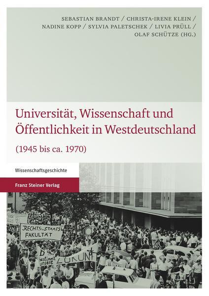 Universität, Wissenschaft und Öffentlichkeit in Westdeutschland - Coverbild