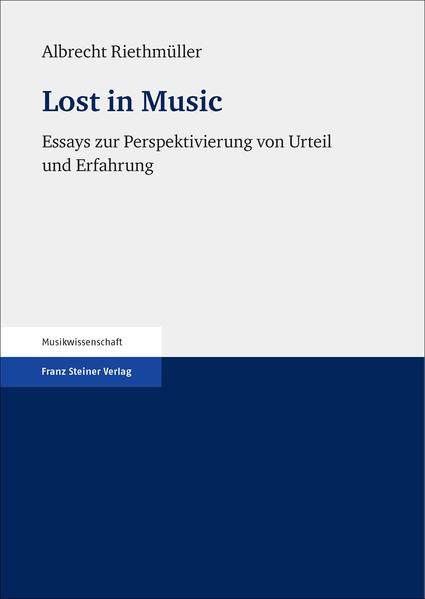 Lost in Music - Coverbild
