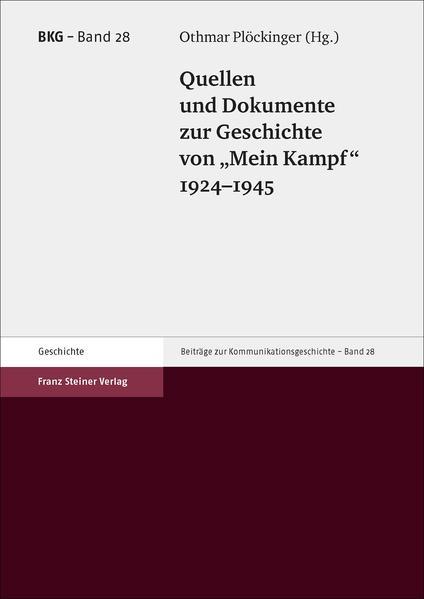 Quellen und Dokumente zur Geschichte von