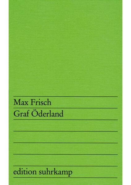 Graf Öderland - Coverbild