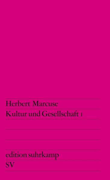 Kultur und Gesellschaft I - Coverbild