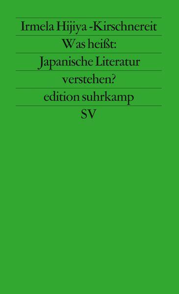 Download PDF Kostenlos Was heißt: Japanische Literatur verstehen?