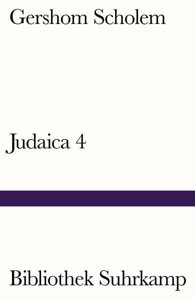 Judaica IV - Coverbild