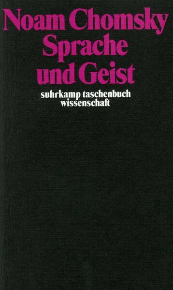 Sprache und Geist - Coverbild