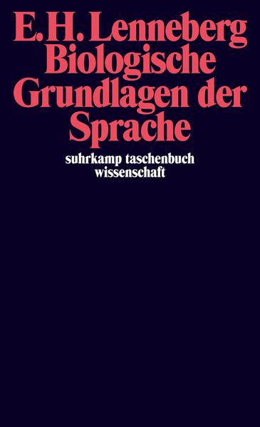 Biologische Grundlagen der Sprache - Coverbild
