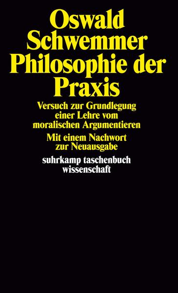 Philosophie der Praxis - Coverbild