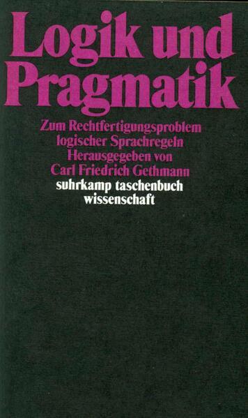 Logik und Pragmatik - Coverbild