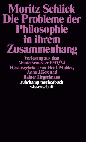 Die Probleme der Philosophie in ihrem Zusammenhang - Coverbild