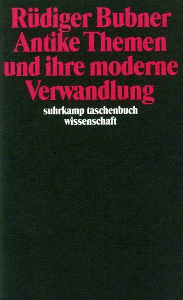 Antike Themen und ihre moderne Verwandlung - Coverbild