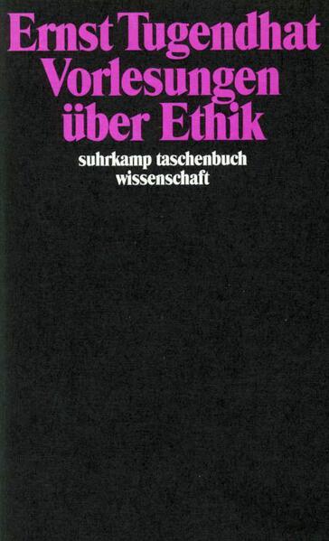 Vorlesungen über Ethik - Coverbild