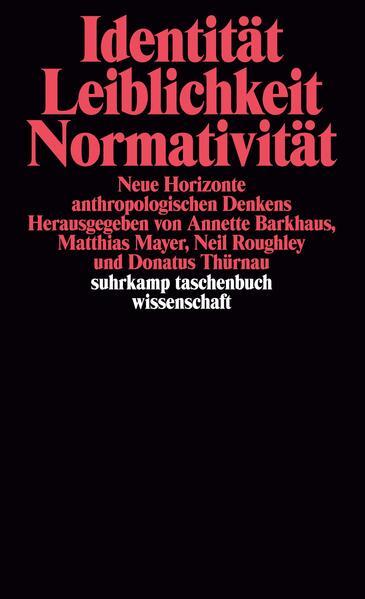 Identität, Leiblichkeit, Normativität - Coverbild