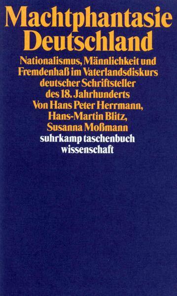 Machtphantasie Deutschland - Coverbild