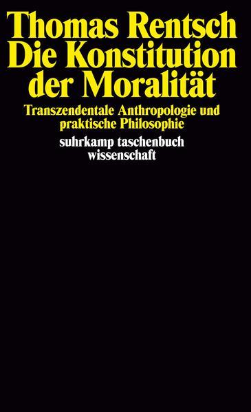 Die Konstitution der Moralität - Coverbild