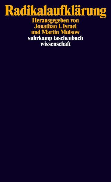 Radikalaufklärung - Coverbild