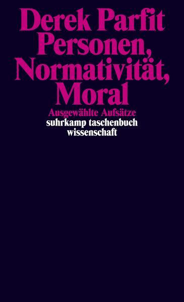 Personen, Normativität, Moral - Coverbild