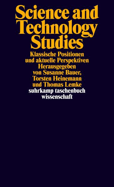 Science and Technology Studies - Coverbild