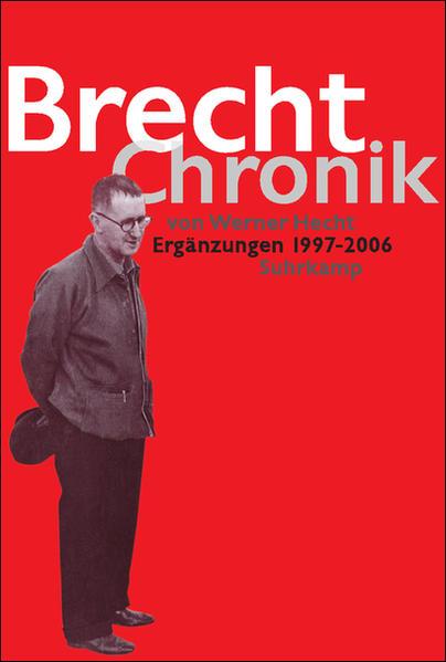 Brecht Chronik 1898–1956 - Coverbild