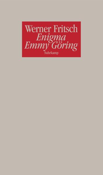Enigma Emmy Göring - Coverbild