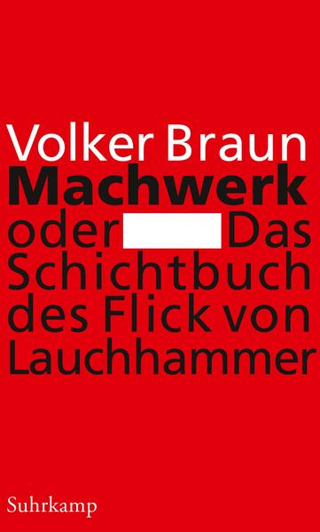 Machwerk oder Das Schichtbuch des Flick von Lauchhammer - Coverbild