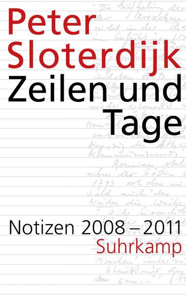 Zeilen und Tage - Coverbild