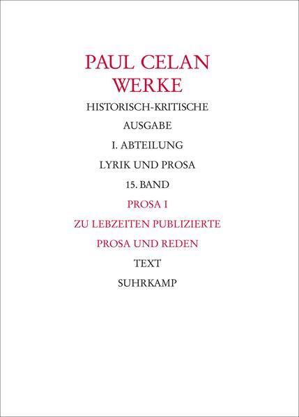 Bonner Historisch-kritische Ausgabe - Coverbild
