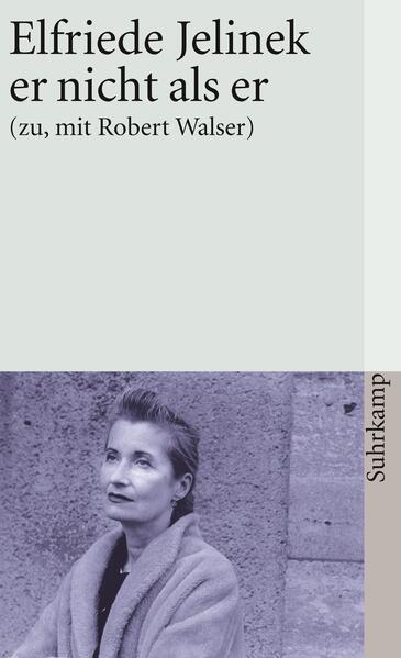 er nicht als er (zu, mit Robert Walser) - Coverbild