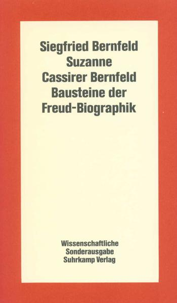 Bausteine der Freud-Biographik - Coverbild