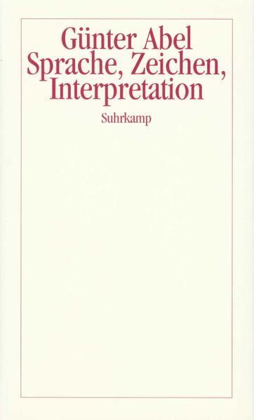 Sprache, Zeichen, Interpretation - Coverbild