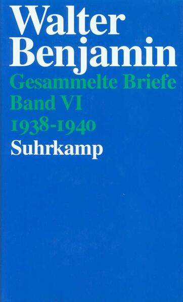Gesammelte Briefe. 6 Bände - Coverbild