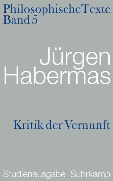 Kritik der Vernunft. Philosophische Texte - Coverbild