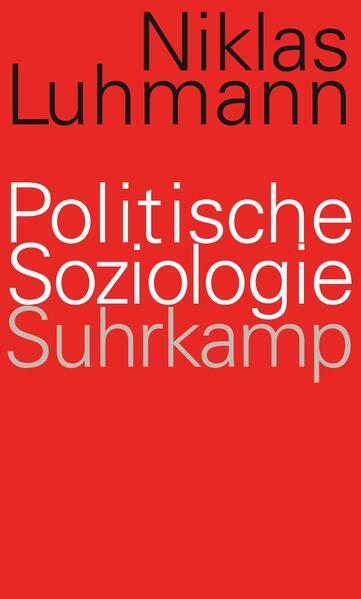 Politische Soziologie - Coverbild