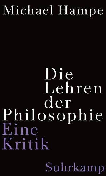 Die Lehren der Philosophie - Coverbild