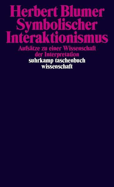 Symbolischer Interaktionismus - Coverbild
