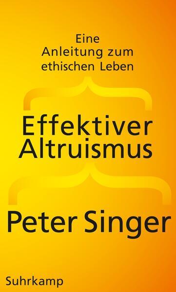 Effektiver Altruismus - Coverbild