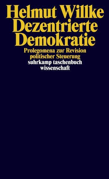 Dezentrierte Demokratie - Coverbild