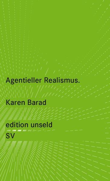 Agentieller Realismus - Coverbild