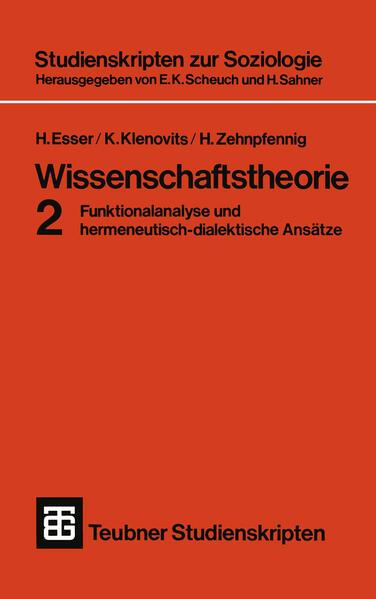 Wissenschaftstheorie 2 - Coverbild