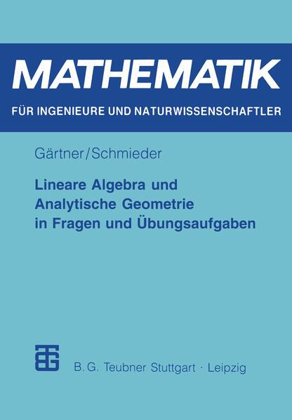 Lineare Algebra und Analytische Geometrie in Fragen und Übungsaufgaben - Coverbild