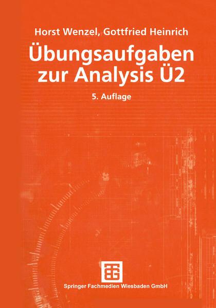 Übungsaufgaben zur Analysis Ü 2 - Coverbild