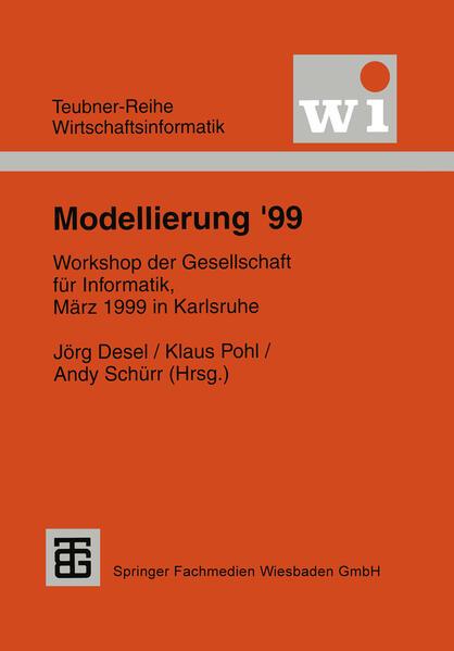Modellierung '99 - Coverbild
