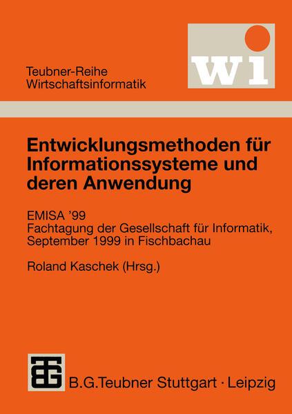 Entwicklungsmethoden für Informationssysteme und deren Anwendung - Coverbild