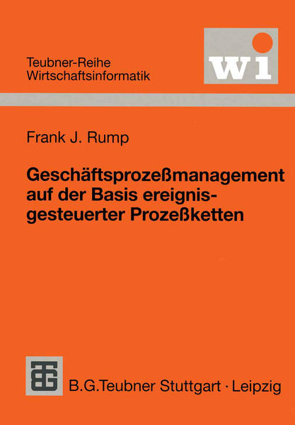 Geschäftsprozeßmanagement auf der Basis ereignisgesteuerter Prozeßketten - Coverbild
