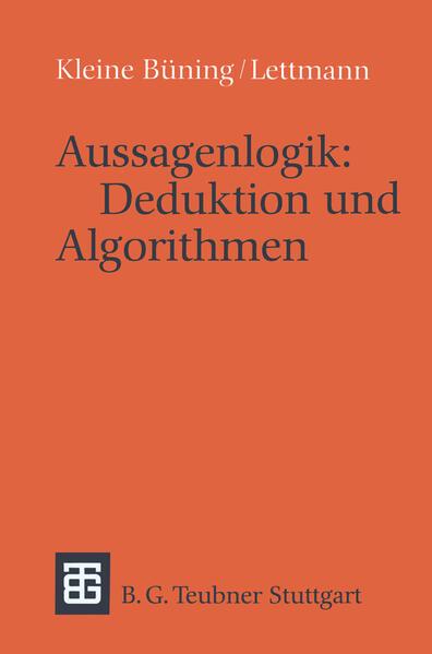 Aussagenlogik: Deduktion und Algorithmen - Coverbild